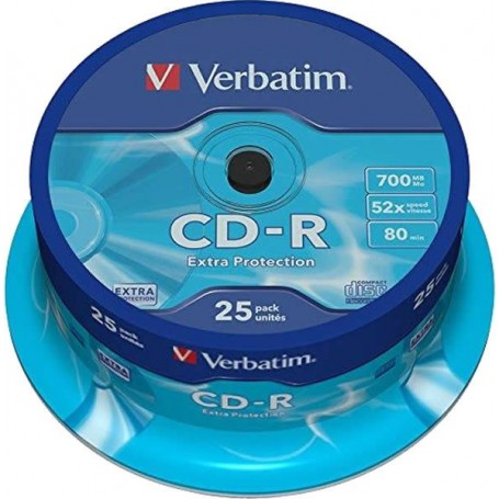 Verbatim CD-R 52x 700MB...