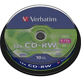 VERBATIM CD-RW REGRABABLE...