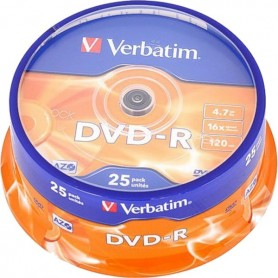 Verbatim DVD-R 16x 4.7GB...