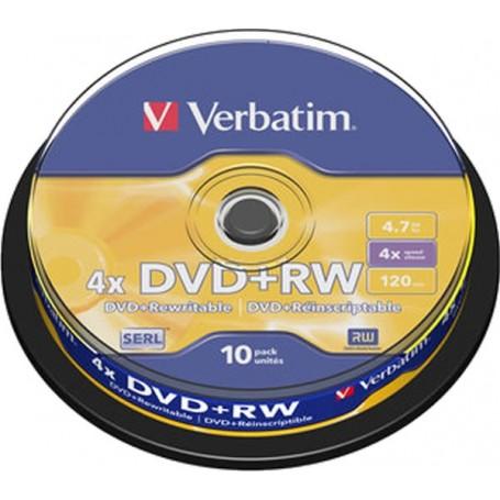 Verbatim DVD+RW Regrabable...