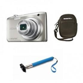 Cámara Nikon A100 plata