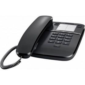 Teléfono fijo gigaset DA410 negro 10 tonos