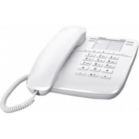 Teléfono fijo gigaset DA410 blanco 10 tonos