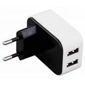 Cargador de Red USB 2 Puertos 4A