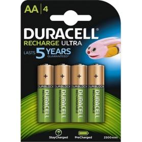 Duracell Pilas Recargables NiHM AA LR6 1.2V 2500mAh Ultra (4 unidades.)