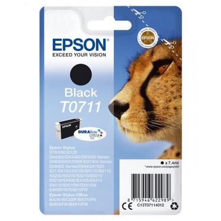 Epson T0711 NEGRO ORIGINAL