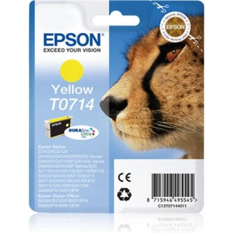 Epson T0714 AMARILLO ORIGINAL