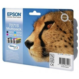 Epson T0715 PACK 4 COLORES...