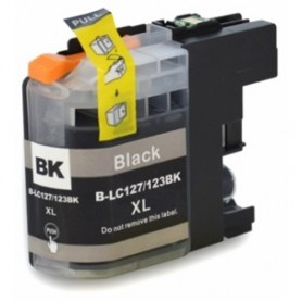 Brother LC127 LC125 XL NEGRO COMPATIBLE