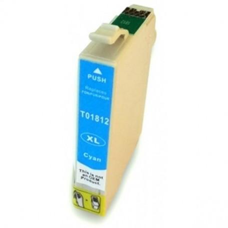 Epson T18 CIAN COMPATIBLE