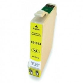 Epson T18 AMARILLO COMPATIBLE