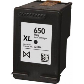 HP 650 XL NEGRO COMPATIBLE