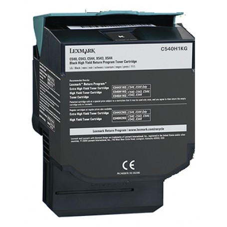 LEXMARK C540N NEGRO COMPATIBLE