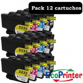 Brother LC-3235 XL PACK 12 COMPATIBLE