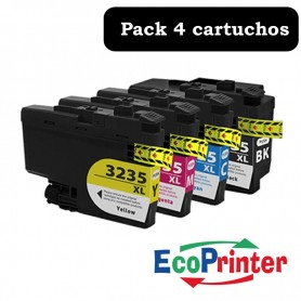 Brother LC-3235 XL PACK 4 COMPATIBLE