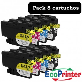 Brother LC-3235 XL PACK 8 COMPATIBLE