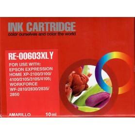 Epson 603XL  T03A4 / T03U4  AMARILLO COMPATIBLE INK