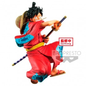 Figura D. Luffy Wanokuni King Of Artist One Piece 16cm