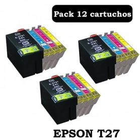 Epson T27 PACK 12 COMPATIBLE