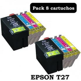 Epson T27 PACK 8 COMPATIBLE