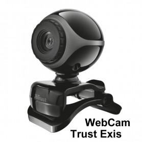 Webcam Trust Exis con micrófono incorporado