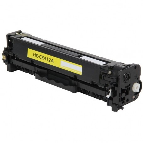 HP CE412A AMARILLO COMPATIBLE