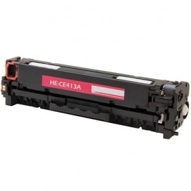 HP CE413A MAGENTA COMPATIBLE Pro 300 M351A M375NW Pro 400 M451DN M451DW M451NW M475DN M475DW CE410X CE411A CE413A