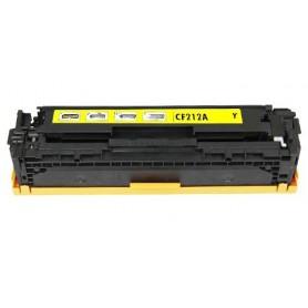 HP CF212A AMARILLO COMPATIBLE LaserJet Pro 200 color M251 M251N M251NW MFP M276 M276N M276NW CF210X CF210A CF211A CF212A CF213A